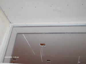 Cartongesso - soffitto